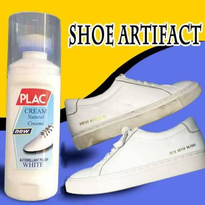 Chai xịt tẩy trắng giày dép túi xách Plac (dạng bàn chải) full box