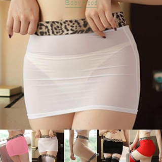 Mini skirt Skinny Elastic Stretch Mesh Sheer mesh Mini Skirt Bodycon Slim fit Clubwear Lingerie Nightwear 2020