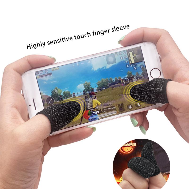 【Ready stock】Bộ bao 2 ngón tay chuyên dụng chơi game mobile chống ra mồ hôi tay【Feimefeiyou】
