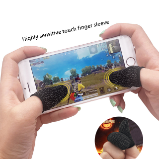 Ready stock Bộ bao 2 ngón tay chuyên dụng chơi game mobile chống ra mồ hôi tay Feimefeiyou thumbnail
