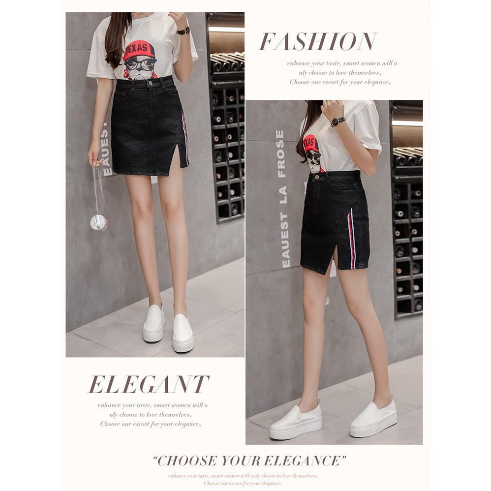 Chân váy bigsize quảng châu jean D75 | BigBuy360