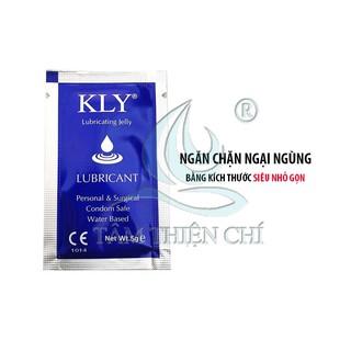 Gel bôi trơn gốc nước tiệt trùng KLY gói 5 gram