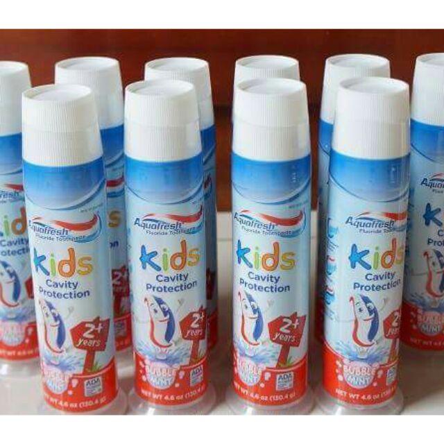 Kem đánh răng cho bé từ 2tuoi trở lên Aquafresh Kids Cavity Protection 130,4g xx mỹ - 13637625 , 485186355 , 322_485186355 , 120000 , Kem-danh-rang-cho-be-tu-2tuoi-tro-len-Aquafresh-Kids-Cavity-Protection-1304g-xx-my-322_485186355 , shopee.vn , Kem đánh răng cho bé từ 2tuoi trở lên Aquafresh Kids Cavity Protection 130,4g xx mỹ