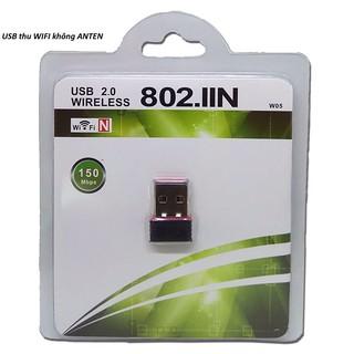 USB wifi không dây USB mini 802.11 b/g/n 150Mbps