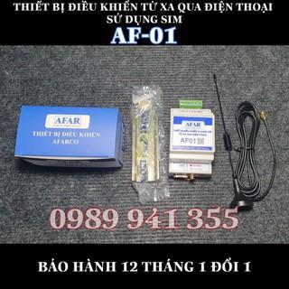 AF01 – Điều khiển từ xa qua điện thoại sử dụng SIM 1 ngõ ra