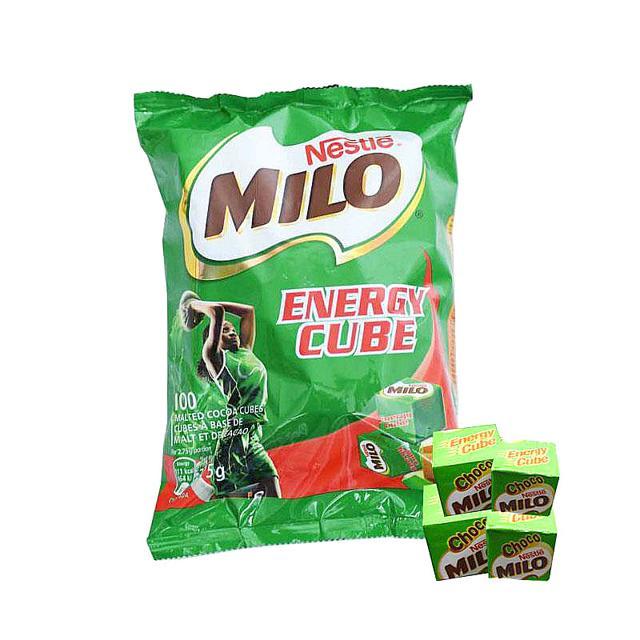 Kẹo Milo Cube 100 viên chính hãng (date T06/2019)