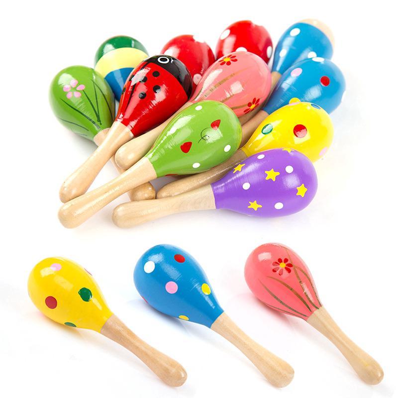 Baby Shaker Sand Hammer Toy Dynamic Rhythm Stick Rattles Musical Toys