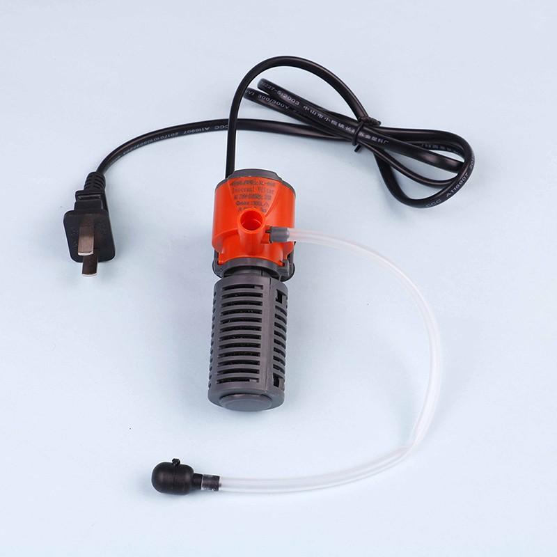 MT Mini 3in1 Multi-function Aquarium Purifier Water Quality Tank Filter Air Pump NY