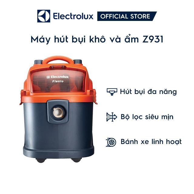 [Mã ELMIDNIGHT giảm 7% đơn 2TR] Máy Hút Bụi Electrolux Z931 - Đen Cam