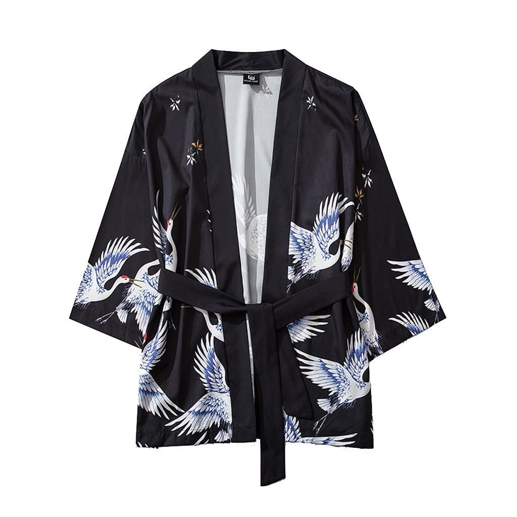 Áo Khoác Kimono Phong Cách Nhật Bản Cho Nam Và Nữ