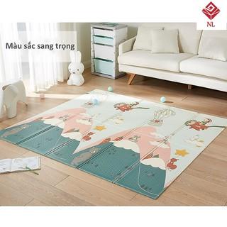 [CHỌN MẪU].Thảm trải sàn xốp XPE 2 mặt phủ Silicone Hàn Quốc - Thảm xốp gấp gọn Hàn Quốc -Thảm tập bò cho bé thumbnail
