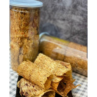Mực cán tẩm vị loại 1 chất lượng kèm tương ớt hộp 200g
