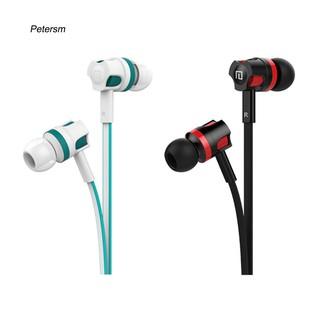 Tai nghe nhét tai ptsm _ âm thanh stereo có mic cho điện thoại di động