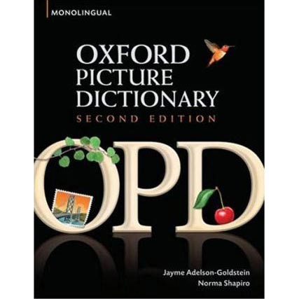 Từ điển Anh - Anh: Oxford Picture Dictionary Monolingual English Edition 2Ed
