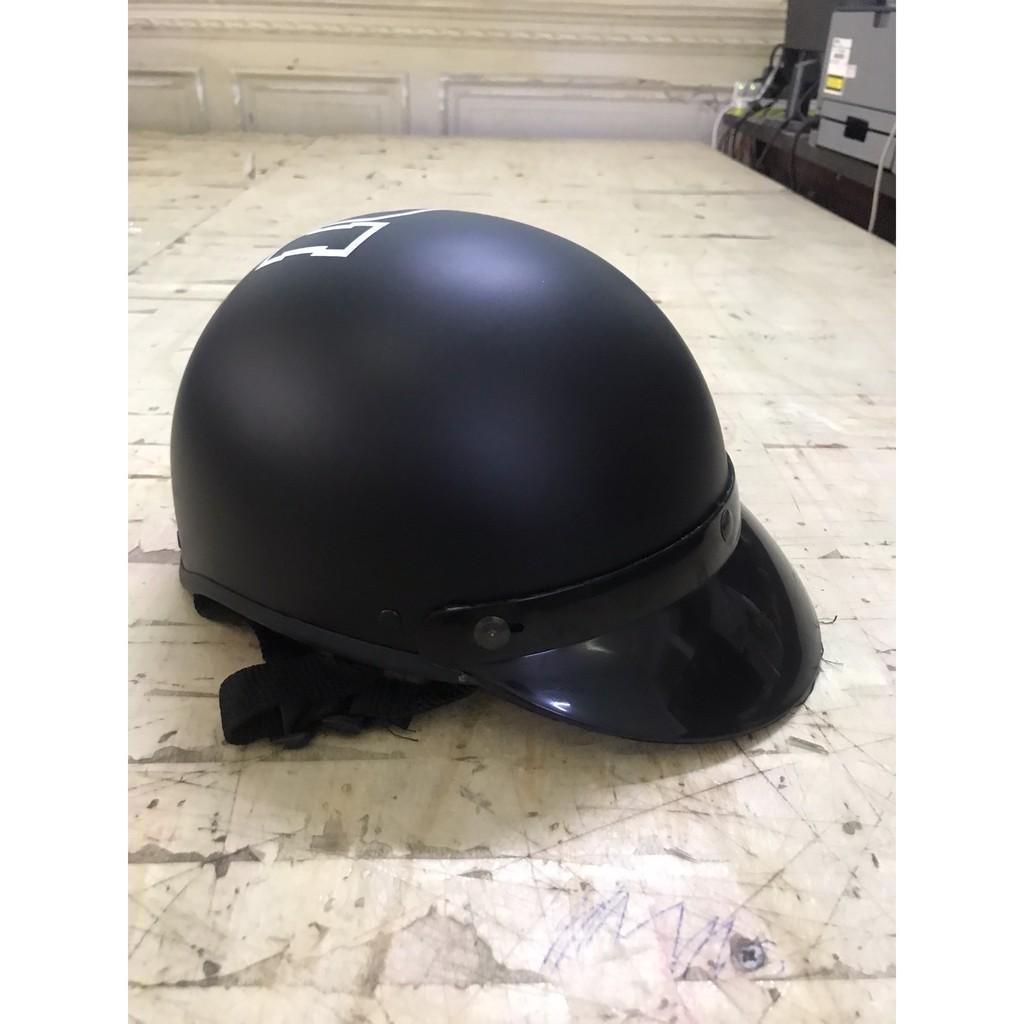 Nón bảo hiểm nửa đầu cao cấp - Mũ bảo hiếm 3d