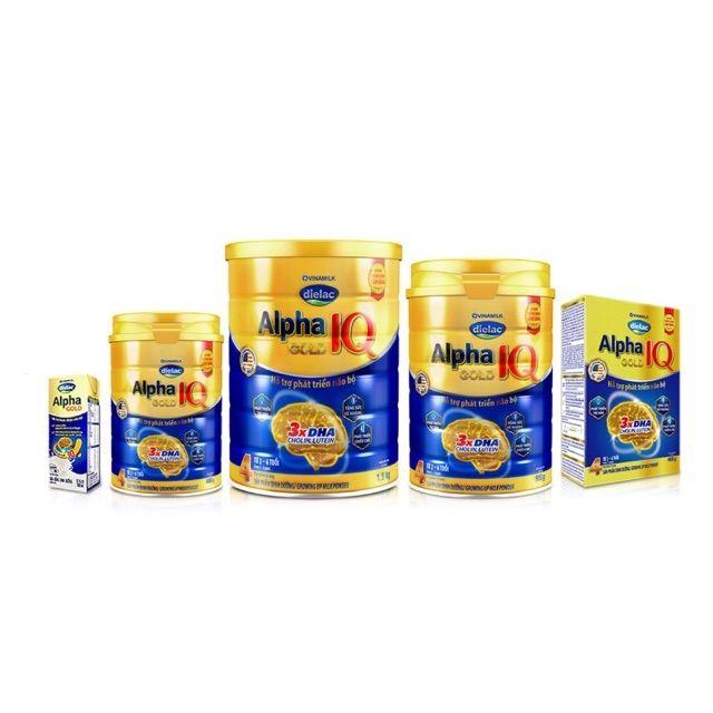 Sữa Bột Dielac Alpha Gold 1-2-3- 900gr