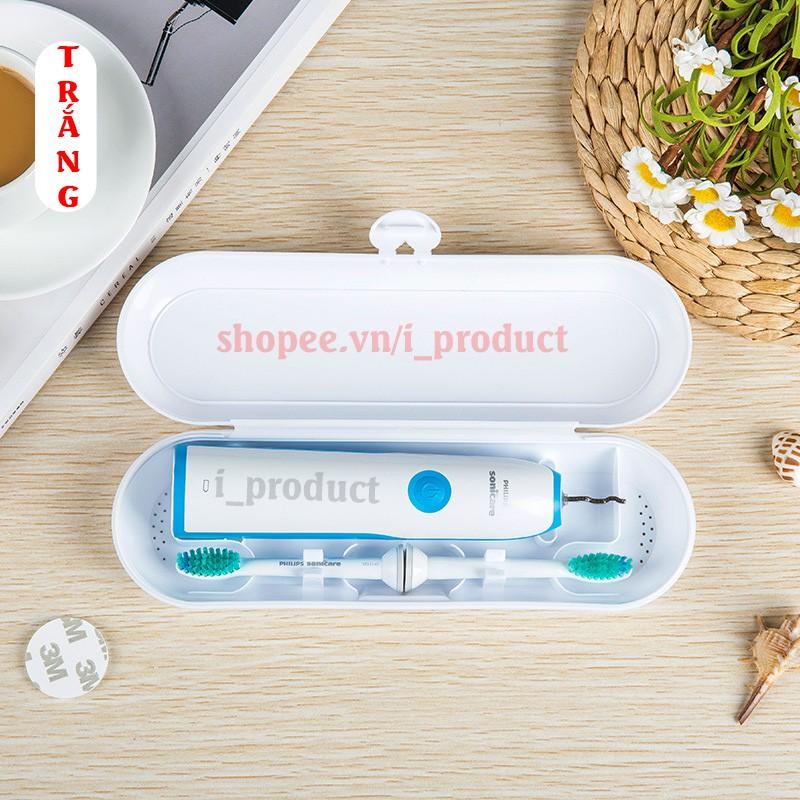 Bàn chải điện tự động đánh răng Sonic X1 Pro và hộp đựng bàn chải tiện dụng an toàn Hachico