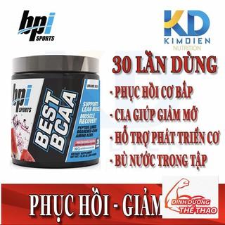 Dinh dưỡng chống dị hóa cơ bắp BPI Sports Best BCAA 30 vón 50-70%