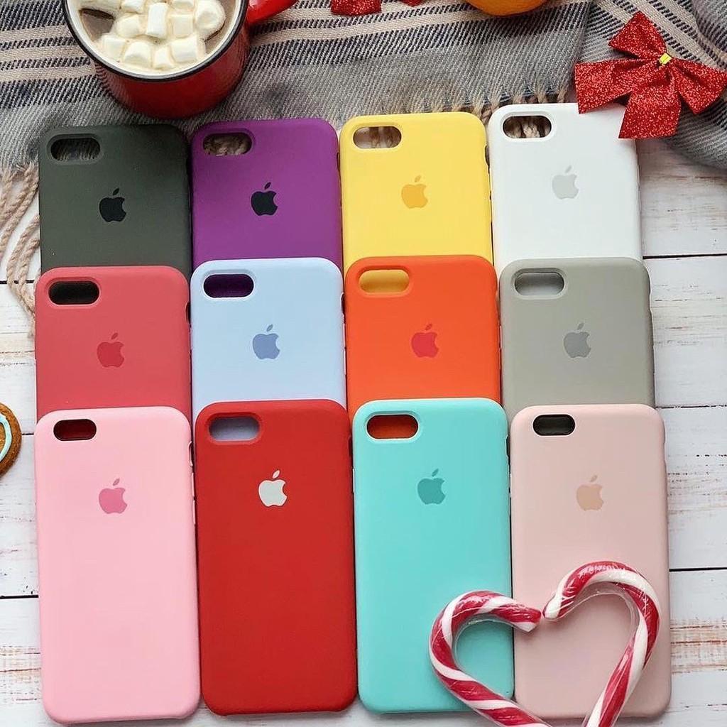 Ốp điện thoại silicone mềm cho IPhone 6 6s 6Plus 6sPlus 7 7Plus 8 8plus XS Max