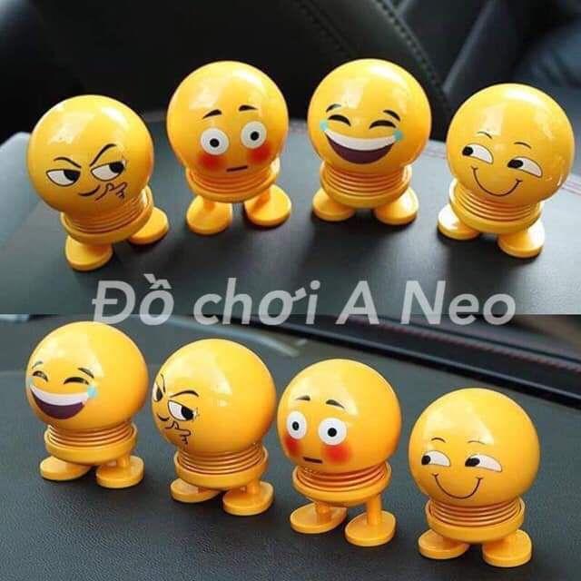 Thú nhún Emoji lò xo ngộ nghĩnh