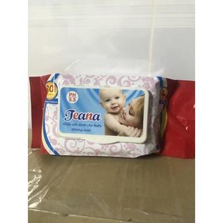 khăn ướt Teana mã không mùi