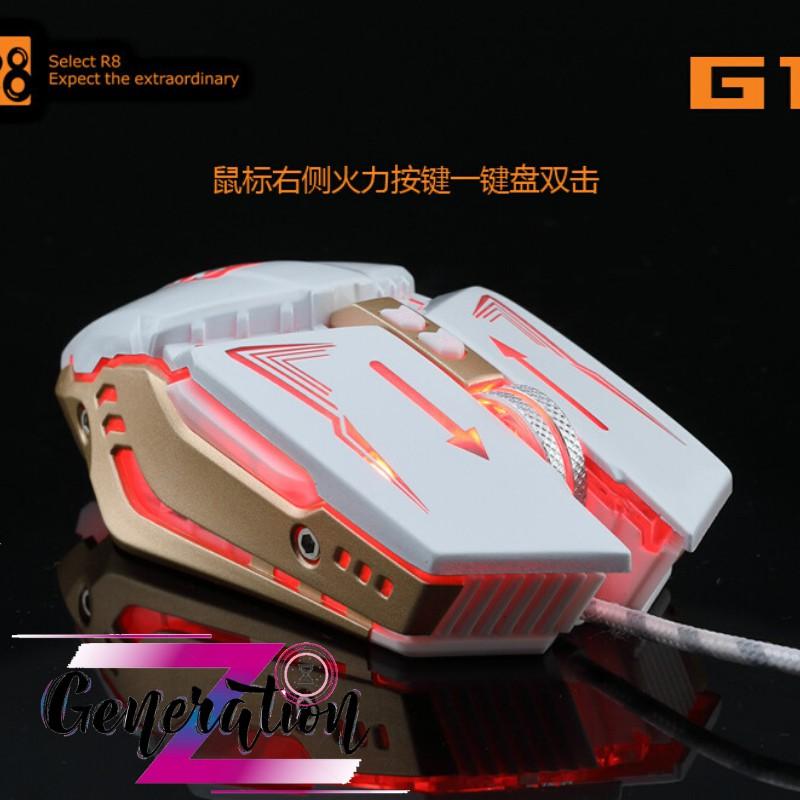 CHUỘT QUANG LED R8 (G1) - MOUSE LED R8 (G1)