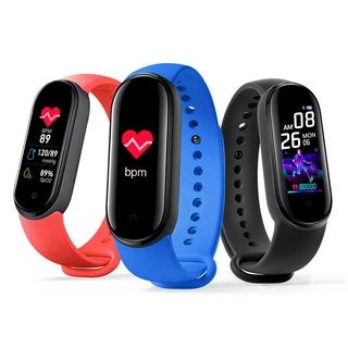 M5 M6 Smartband Bluetooth IP67 Waterproof Fitness Tracker Sport Heart Rate Monitor Wristband IOS Android Smartwatch Fitpro Miband 5 6