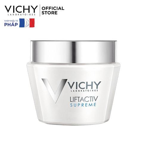 Kem dưỡng ngăn ngừa dấu hiệu lão hóa, làm săn da (ban ngày) Vichy Liftactiv Supreme Day 50ml