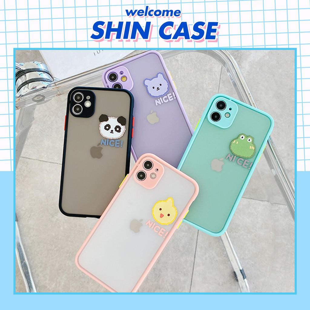 Ốp lưng iphone Nice 5s/6/6plus/6s/6s plus/6/7/7plus/8/8plus/x/xs/xs max/11/11pro/11promaxsamsung -  shin case