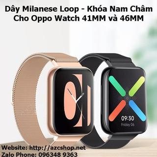 Dây Oppo Watch Milanese Nam Châm Thép Lưới 41MM - 46MM