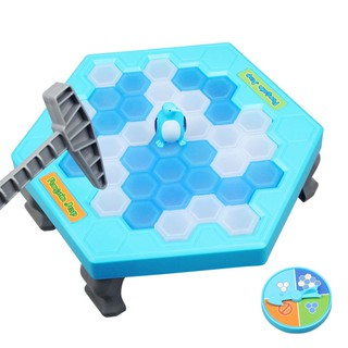 Ice Breaking Save The Penguin Kids Fun Board Game Table Toy