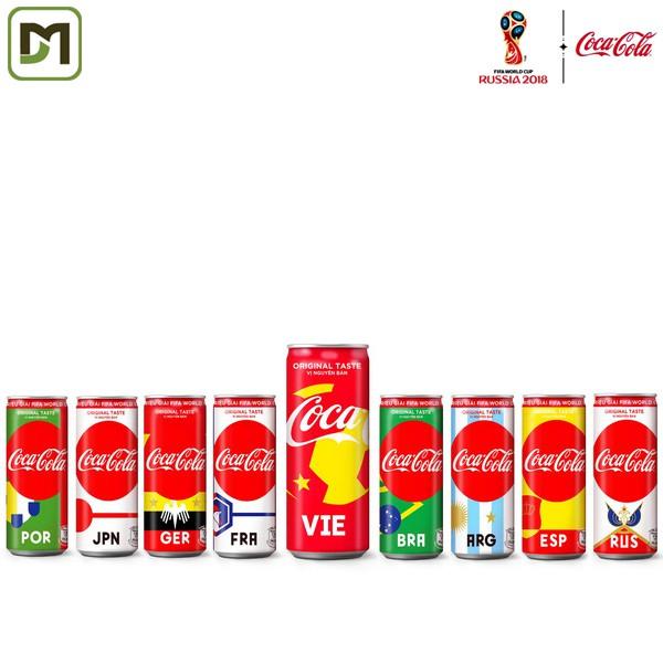 Thùng 24 lon cao 330ml Nước ngọt Coca Cola - FIFA World Cup 2018 săn triệu giải độc dưới nắp lon - 3475309 , 844947376 , 322_844947376 , 185000 , Thung-24-lon-cao-330ml-Nuoc-ngot-Coca-Cola-FIFA-World-Cup-2018-san-trieu-giai-doc-duoi-nap-lon-322_844947376 , shopee.vn , Thùng 24 lon cao 330ml Nước ngọt Coca Cola - FIFA World Cup 2018 săn triệu giải