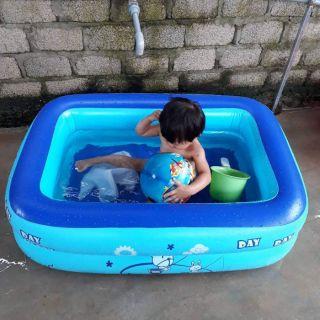 Bể phao tắm mát 1.2m cho bé