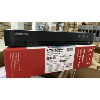 Đầu ghi hình 04 kênh HIKVISION Turbo HD 4.0 DVR ( vỏ sắt ) – 01 ổ cứng DS-7204HQHI-K1 VERSION S