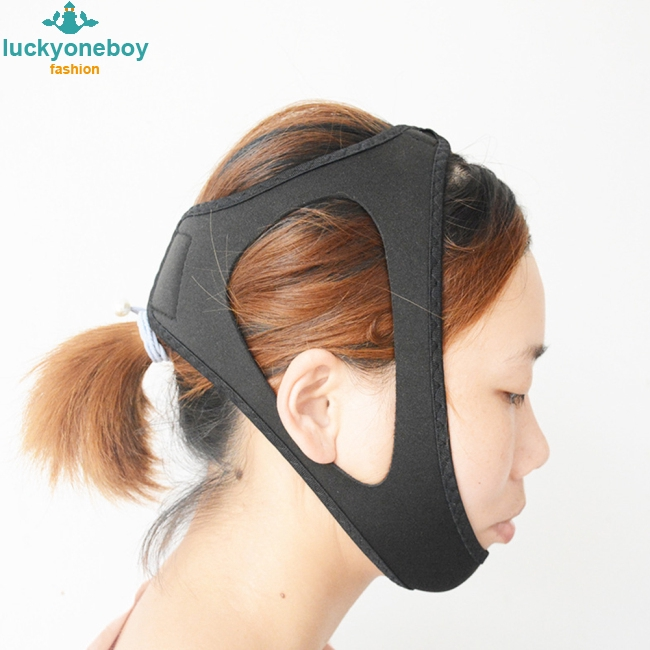 Unisex Stop Snoring Belt Chin Jaw Supporter Anti Snore Chin Strap