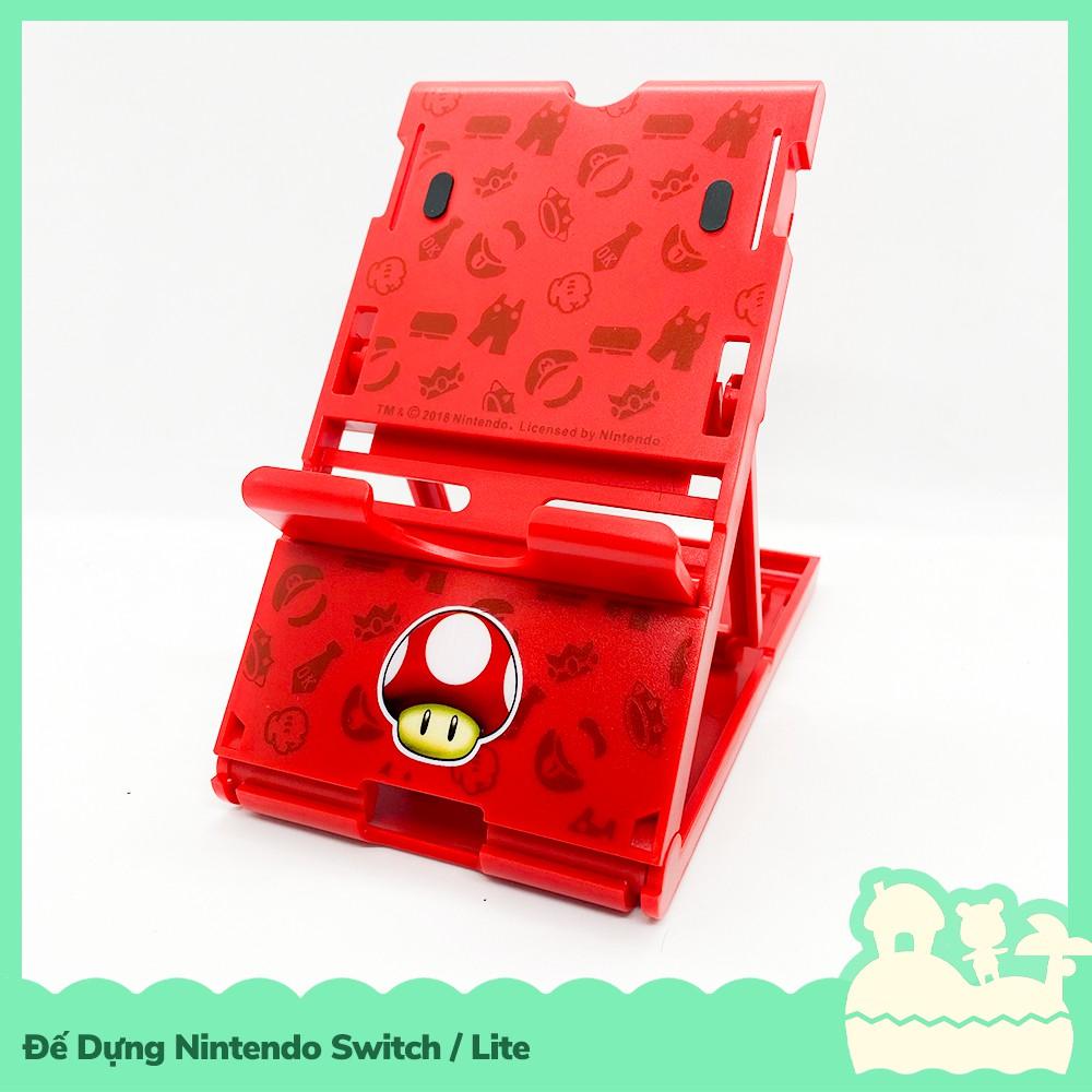 Phụ Kiện Giá Đỡ / Đế Dựng Cho Máy Game Nintendo Switch NS, Nintendo Switch Lite Nấm Mario