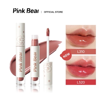 Son Kem Bóng Pink Bear Glass Shine Gloss Hydrating Long-lasting 2.5g