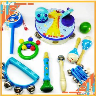 Đồ Chơi Thông Minh – Set nhạc cụ Baby Boy. Đồ chơi kỹ năng cho bé trai tuổi thôi nôi