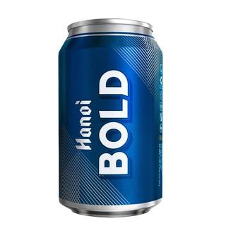 Thùng 24 lon bia Hà Nội Bold 330ml