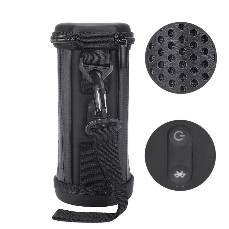 dou Hollowed Mesh Protective Hard Case Cover Bag Box for Flip4 Flip 5 Waterproof Bluetooth Speaker
