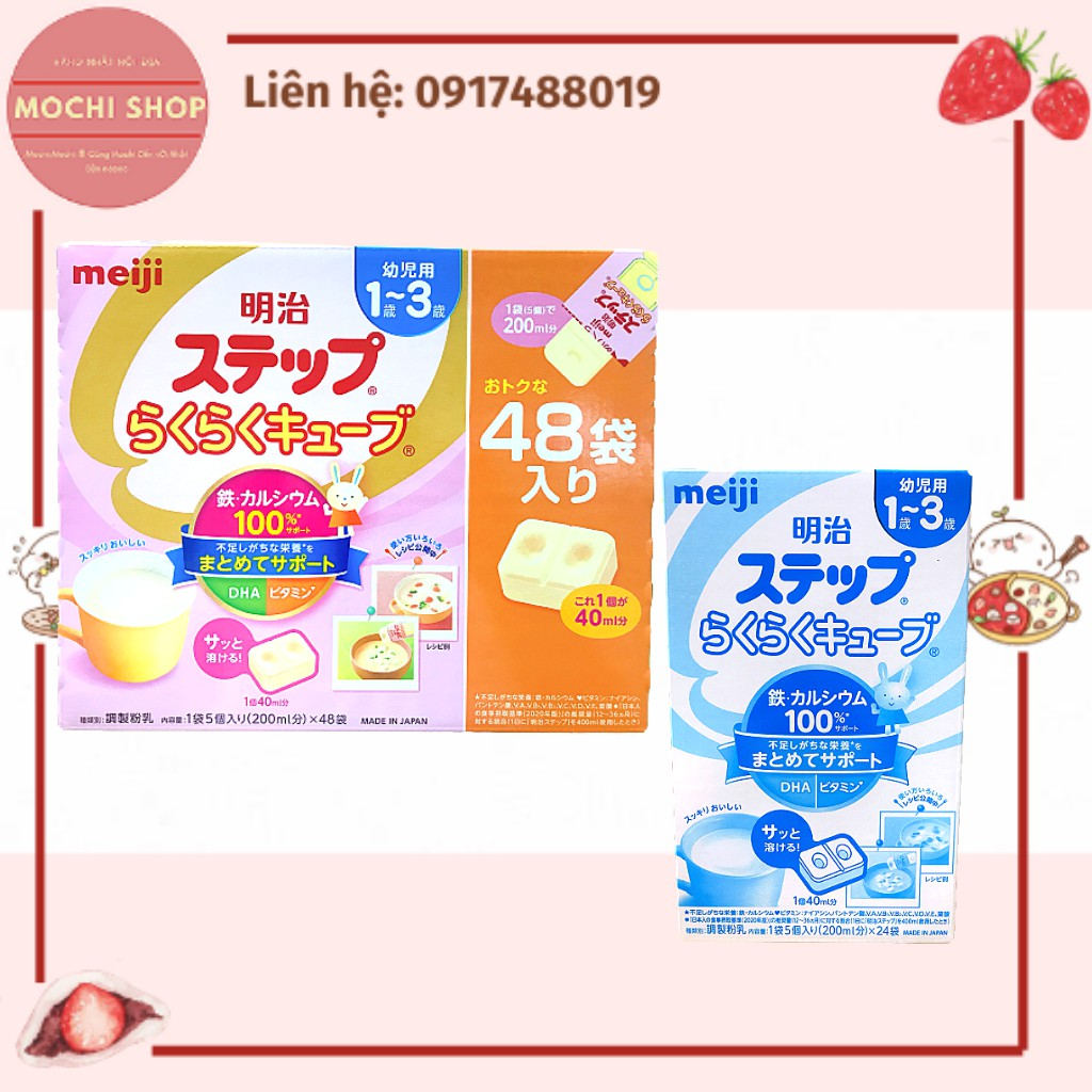 Sữa MEIJI 1-3 24 thanh 648g Nhật Bản [Date 5.2022]