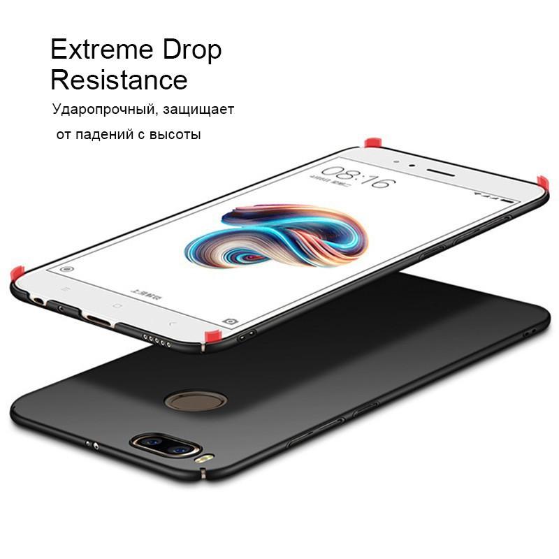 Ốp lưng mỏng/ chất liệu nhựa cứng PC cho Xiaomi Mi A1 / 5X