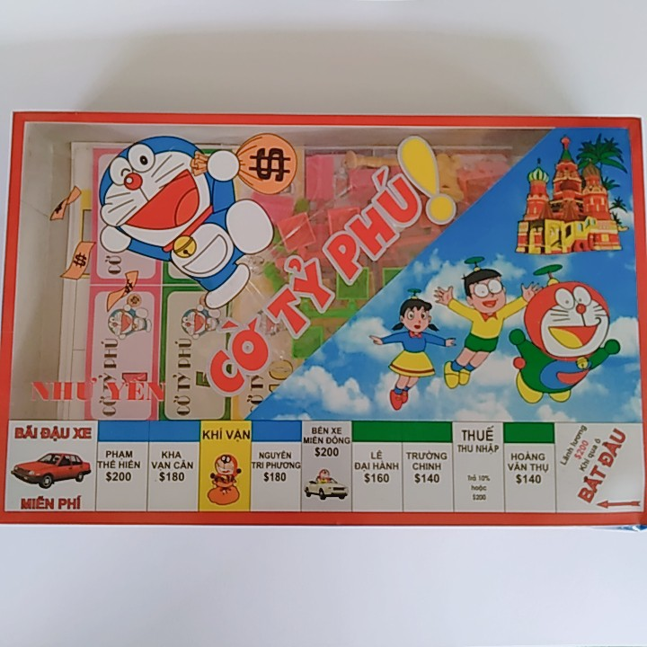 Bộ cờ tỷ phú Doraemon