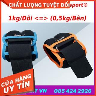HÀNG CAO CẤP – Tạ đeo cổ chân cổ tay loại siêu gọn nhẹ Ubest Aibeijiansport® phiên bản 3.0 – Dùng cho Yoga, bale, múa,