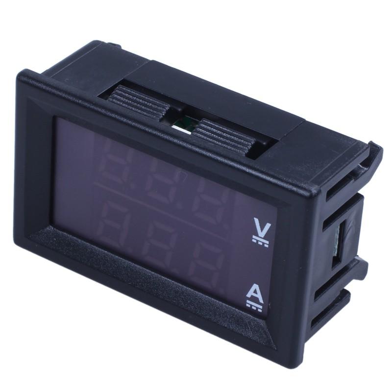 Máy đo dòng điện DC 0-100V 10A LED hiển thị điện thế