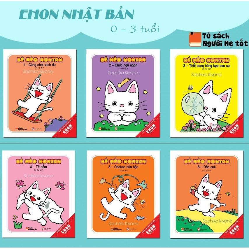 Sách - COMBO BÉ MÈO NONTAN ( EHON NHẬT BẢN) TRỌN BỘ 6 CUỐN - 3373765 , 772535657 , 322_772535657 , 234000 , Sach-COMBO-BE-MEO-NONTAN-EHON-NHAT-BAN-TRON-BO-6-CUON-322_772535657 , shopee.vn , Sách - COMBO BÉ MÈO NONTAN ( EHON NHẬT BẢN) TRỌN BỘ 6 CUỐN