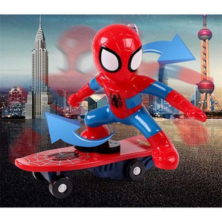 Đồ chơi người nhện lướt ván GX984(kèm pin)