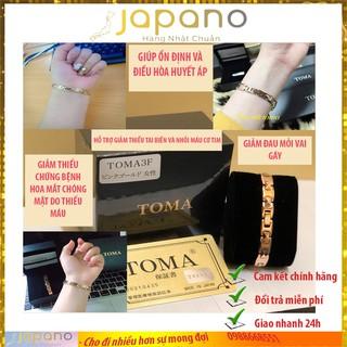 Vòng huyết áp TOMA Nhật Bản điều hòa và ổn định huyết áp Japano thumbnail