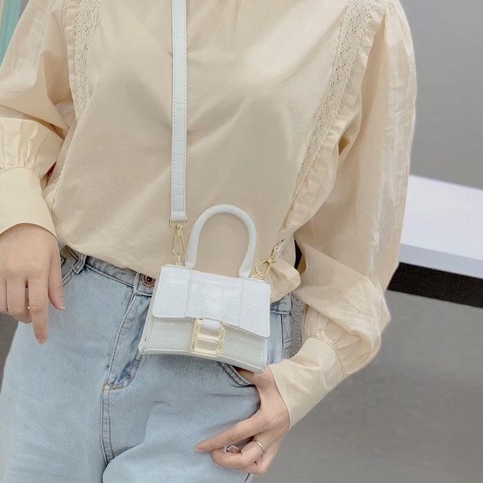 Túi chữ B mini túi balen mini ulzzang siêu xinh CHUBMINI  túi xách nữ hàng xịn 199k sale còn 119k+ hình thật