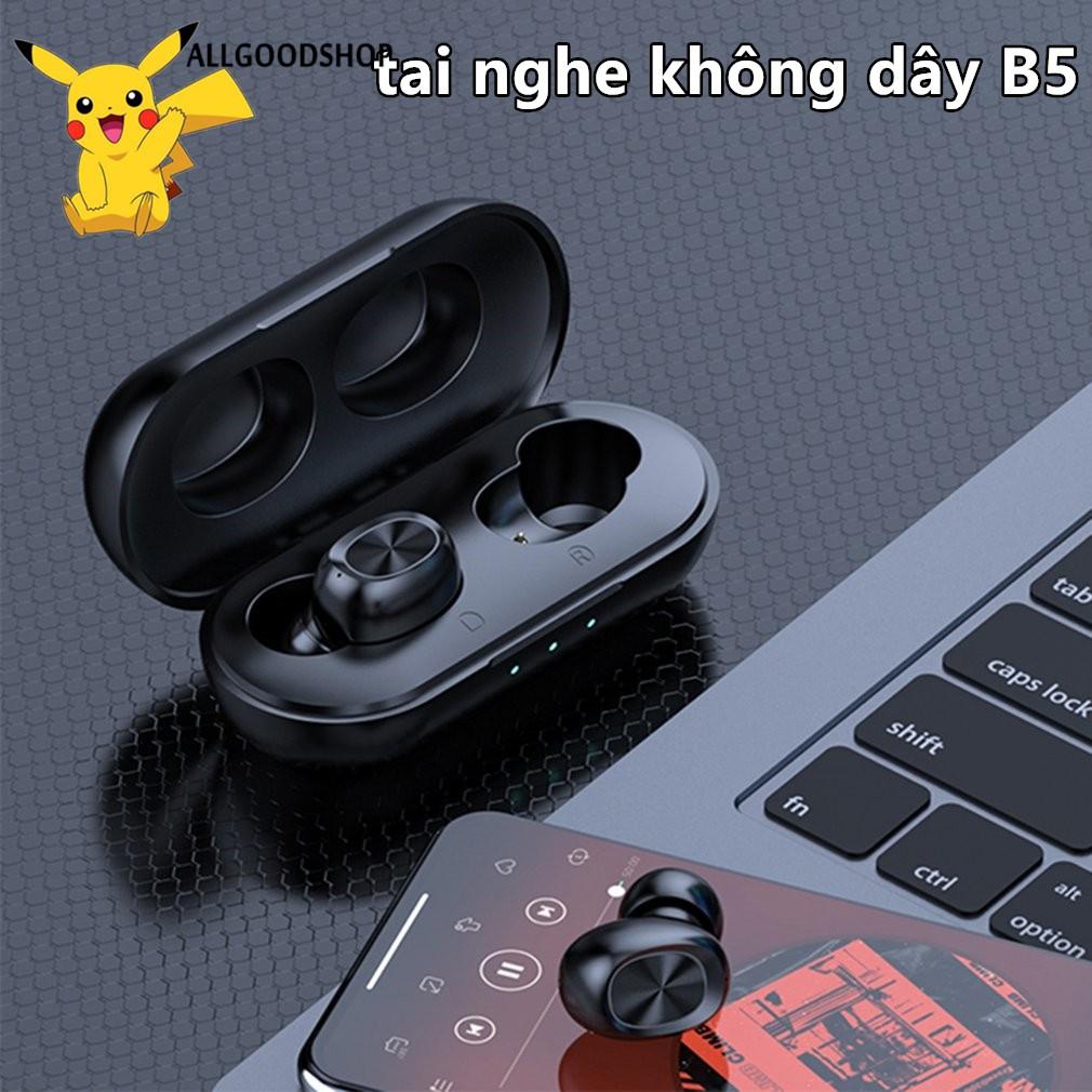 [COD]Tai nghe Bluetooth không dây Vitog B5 tích hợp micro cho điện thoại